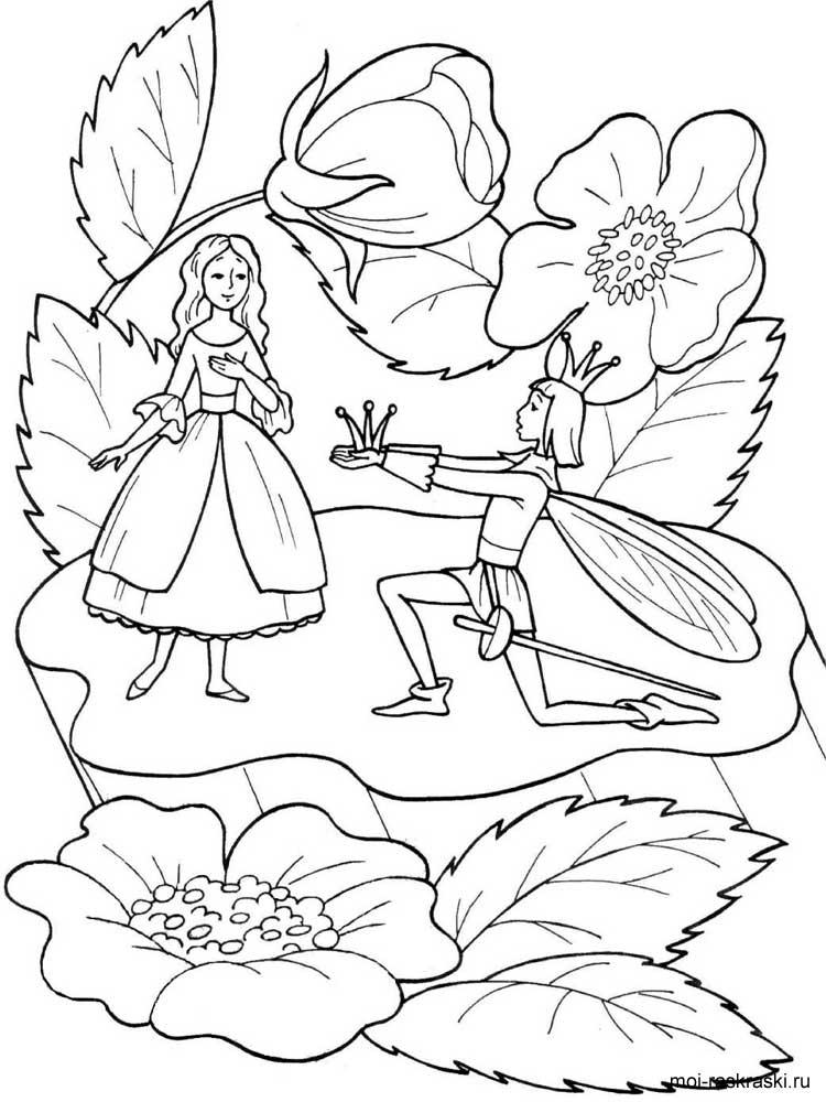 Картинки раскраски на тему сказок