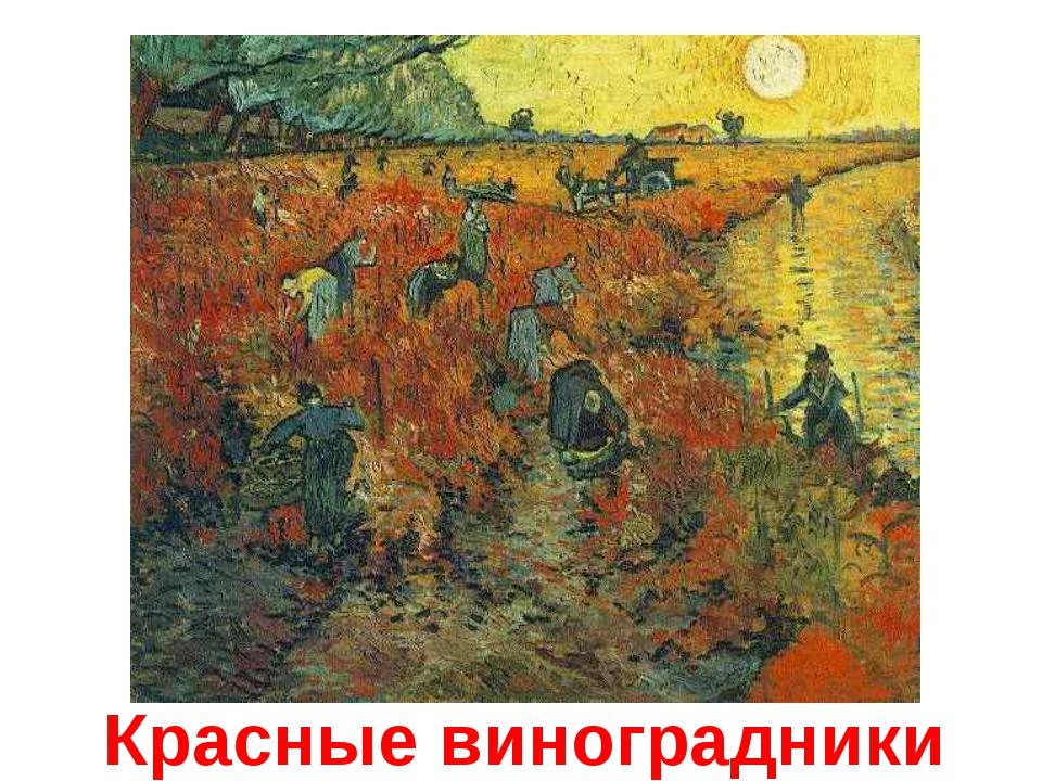 Красные виноградники