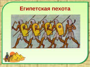 Египетская пехота