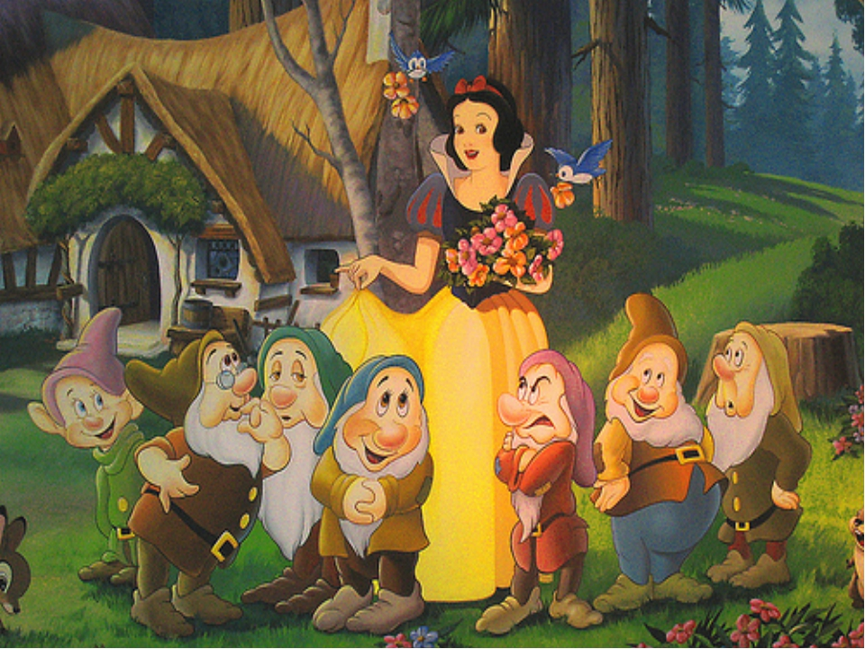 snow white and the seven dwarfs - 950×633