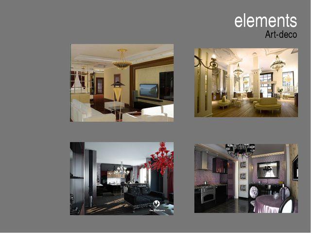 elements Art-deco