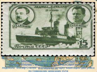 """В 1937 г. Папанин возглавил первую в мире дрейфующую станцию """"Северный полюс"""