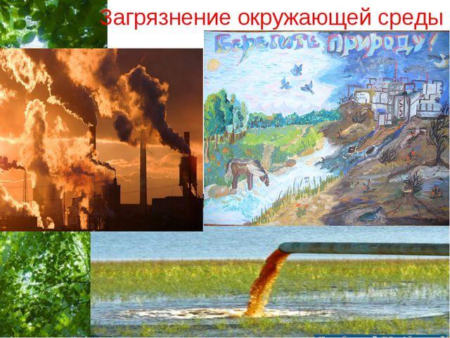 Загрязнение окружающей среды Free Powerpoint Templates Page *