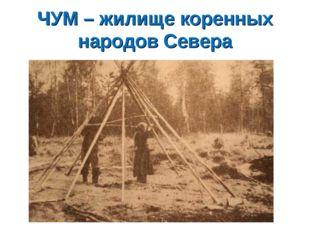 ЧУМ – жилище коренных народов Севера