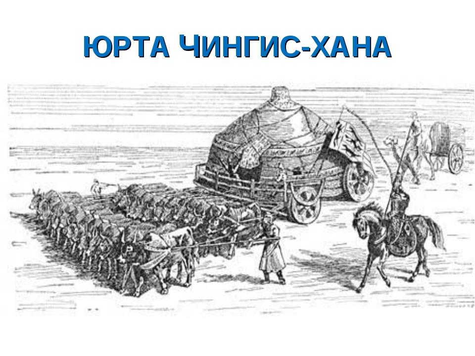 ЮРТА ЧИНГИС-ХАНА