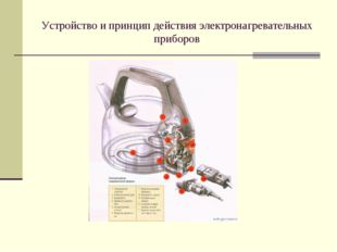 Устройство и принцип действия электронагревательных приборов