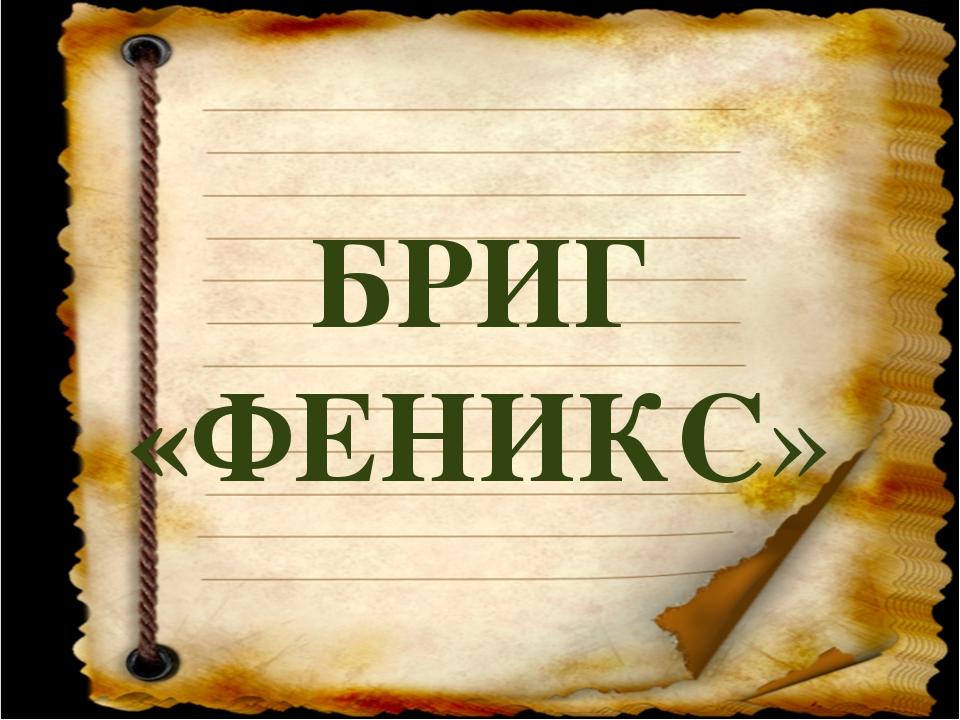 БРИГ «ФЕНИКС»