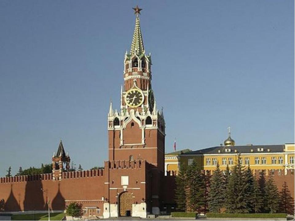 В 1851-52 гг. на Спасской башне установили часы, которые мы видим до сих пор...