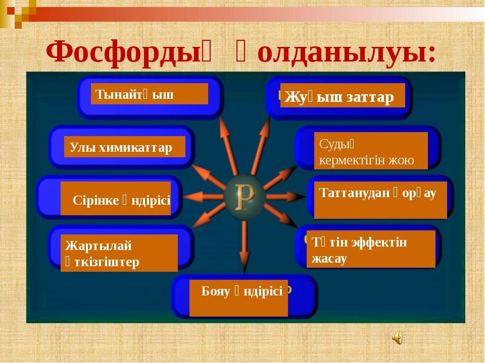 5.Фосфордың электронды конфигурациясы A) 1s22s22p63s23p1 B) 1s22s22p63s23p2 C...