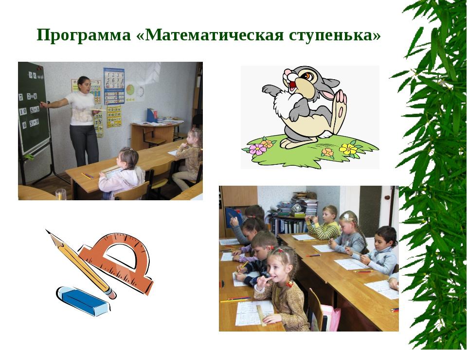 Программа «Математическая ступенька»