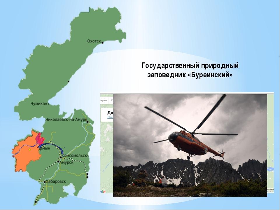 Государственный природный заповедник «Буреинский»