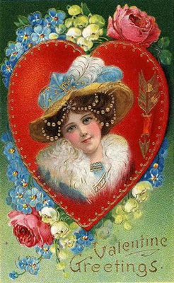 C:\Users\User\Desktop\Открытое мроприятие_День Св. Валентина\victorian-vintage-valentine-card-pretty-woman-flowers-hat-with-blue-feathers.jpg