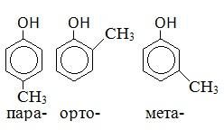 тривиальные названия органических веществ