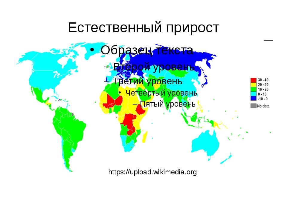 Естественный прирост https://upload.wikimedia.org