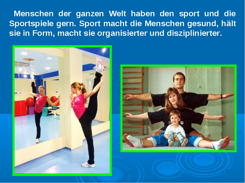 Menschen der ganzen Welt haben den sport und die Sportspiele gern. Sport mach...