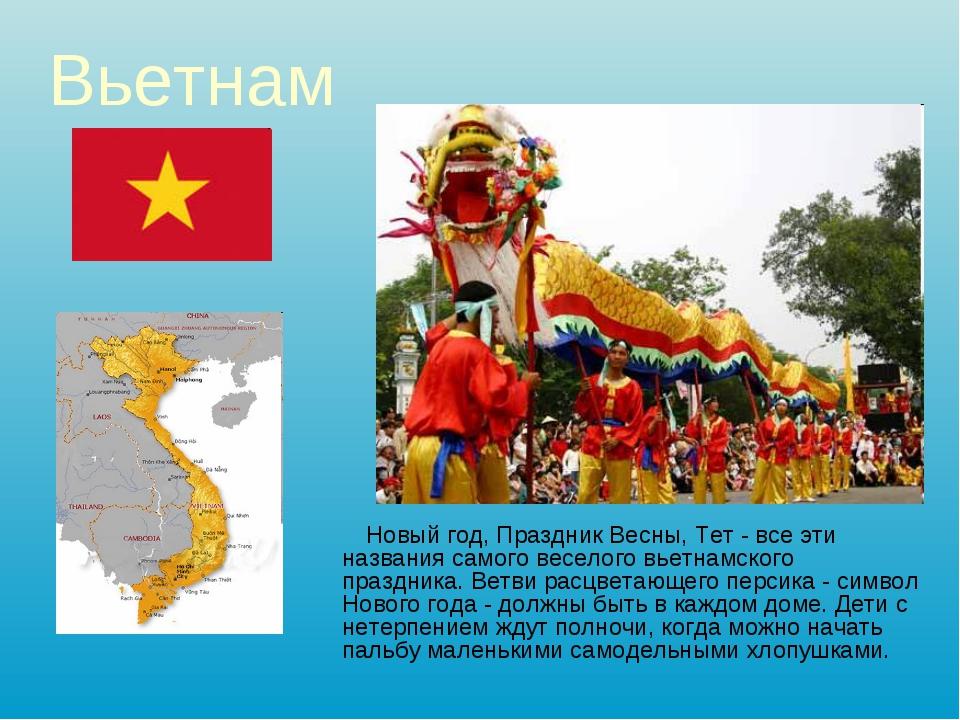 Вьетнам Новый год, Праздник Весны, Тет - все эти названия самого веселого вье...