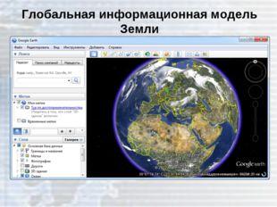 Глобальная информационная модель Земли