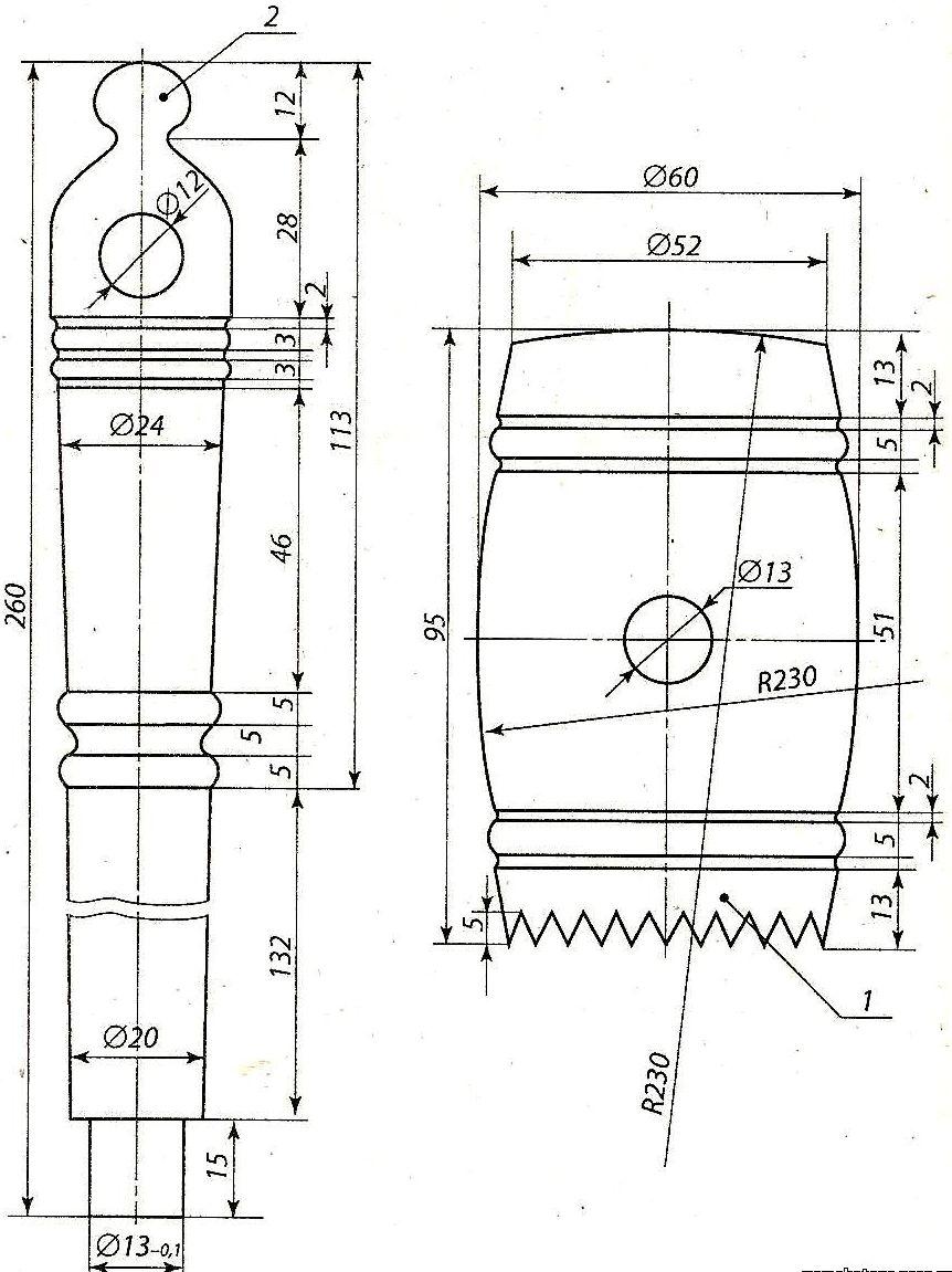 Изделия из дерева чертежи