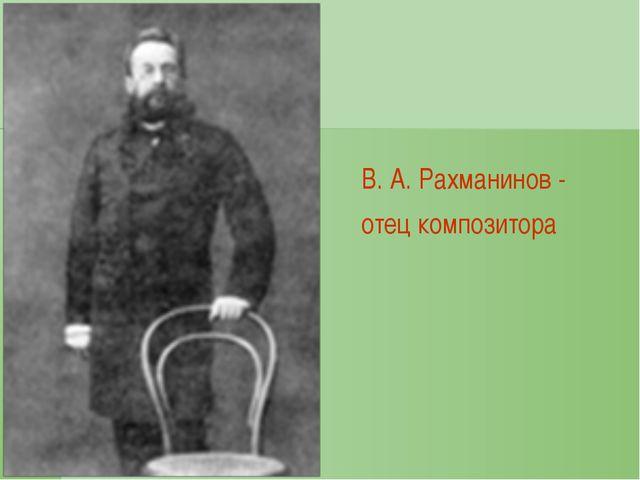С. В. Рахманинов. Фотография 1890-х годов
