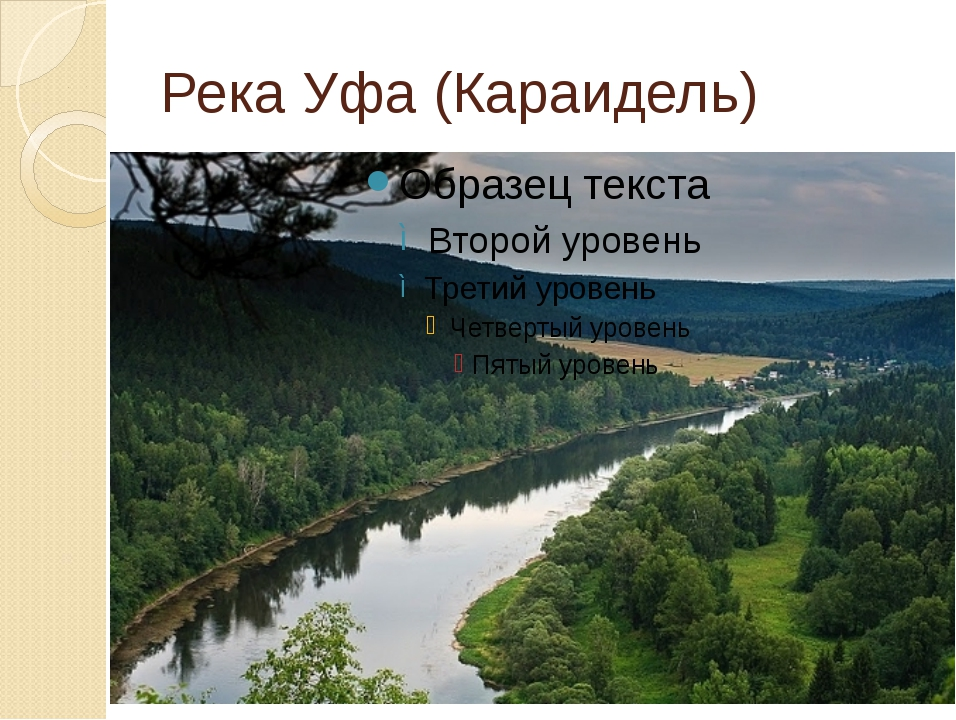 Река Уфа (Караидель)