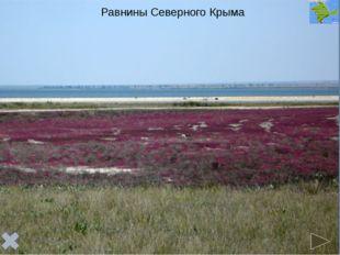 Равнинный Крым имеет платформенное строение и расположен в пределахСкифской