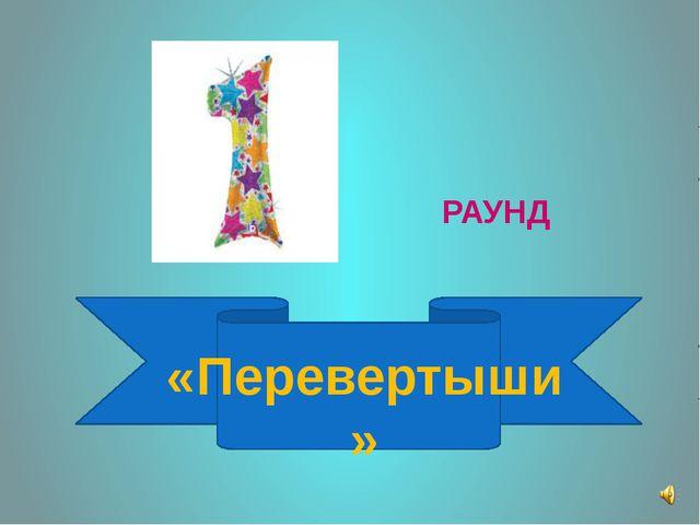 РАУНД «Перевертыши »
