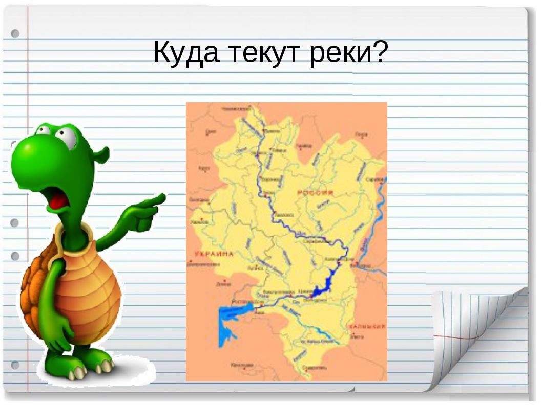 Куда текут реки?