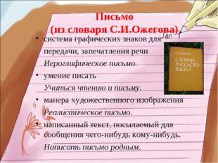 система графических знаков для передачи, запечатления речи Иероглифическое