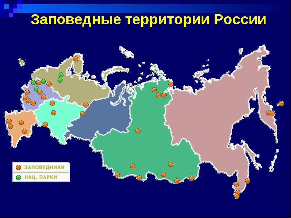 Заповедные территории России