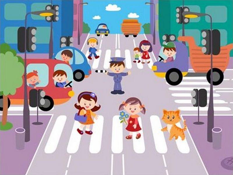 К огда ребенок окажется на дороге, он поступит так же, как родители. Давайте понаблюдаем за тем, как родители вместе со своими д
