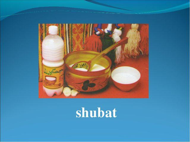 shubat