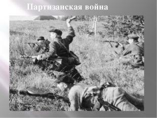 Партизанская война