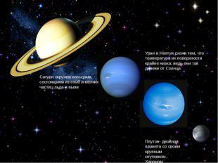 Уран и Нептун схожи тем, что температура их поверхности крайне низка: ведь он