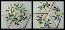 https://upload.wikimedia.org/wikipedia/commons/thumb/2/2f/Hexahexaflexagon_-_two_sides_-_01.jpg/220px-Hexahexaflexagon_-_two_sides_-_01.jpg