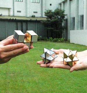 Оригами йошимото куб схема распечатать - Оригами
