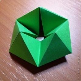 Игрушка Мастер-класс Бумагопластика Оригами Флексагон - игрушка трансформер за 5 минут МК Бумага фото 16