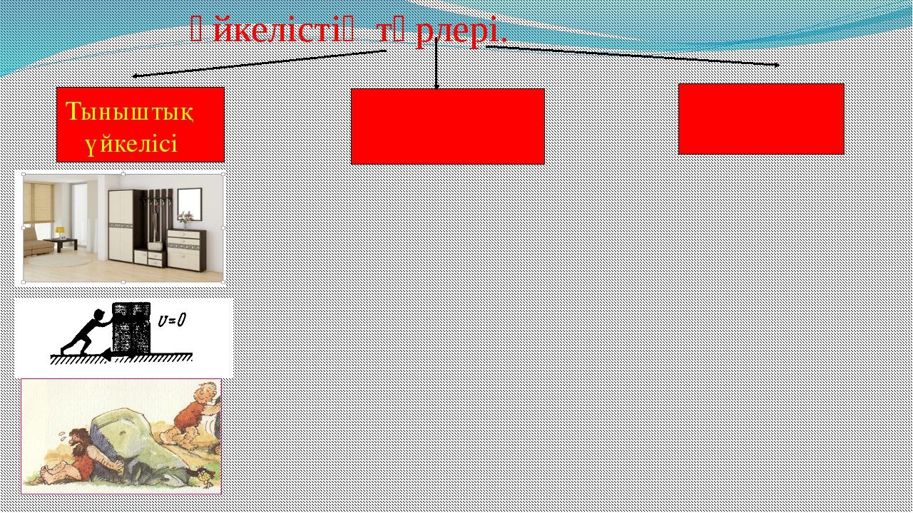 Үйкелістің түрлері. Тыныштық үйкелісі