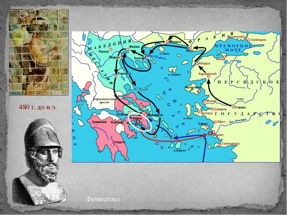 Фемистокл 480 г. до н.э.
