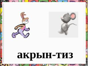 акрын-тиз