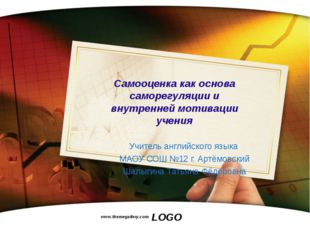 www.themegallery.com Самооценка как основа саморегуляции и внутренней мотивац