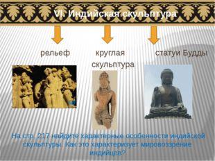 VI. Индийская скульптура рельеф круглая статуи Будды скульптура На стр. 217 н