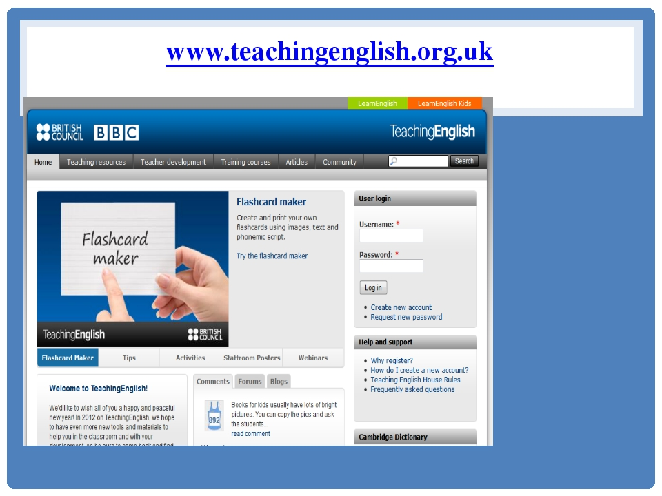 www.teachingenglish.org.uk