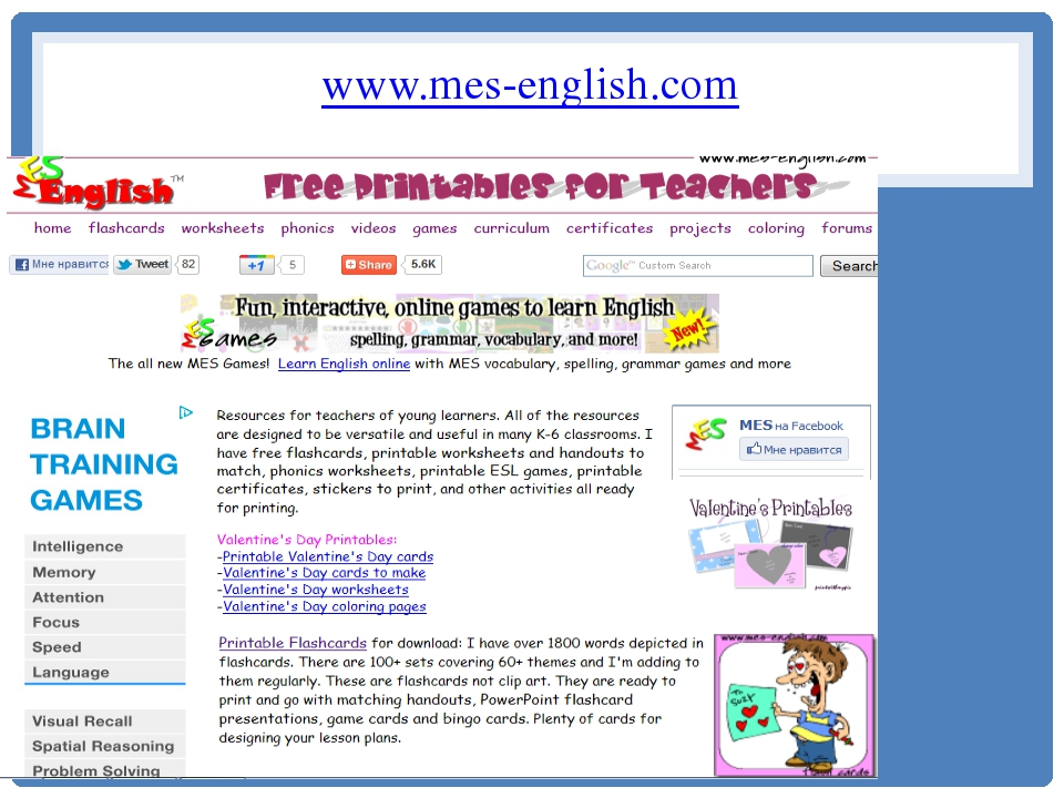 MES English free printable resources for teachers 5376131 - vdyu.info