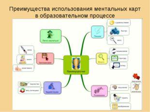 Преимущества использования ментальных карт в образовательном процессе