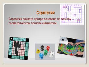 Стратегия Стратегия захвата центра основана на важном геометрическом понятии