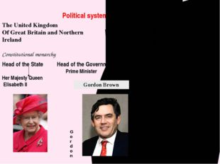 Political system of the United Kingdom The United Kingdom Of Great Britain an