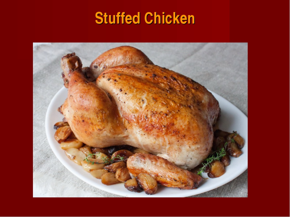 Stuffed Chicken
