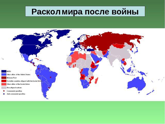 Раскол мира после войны