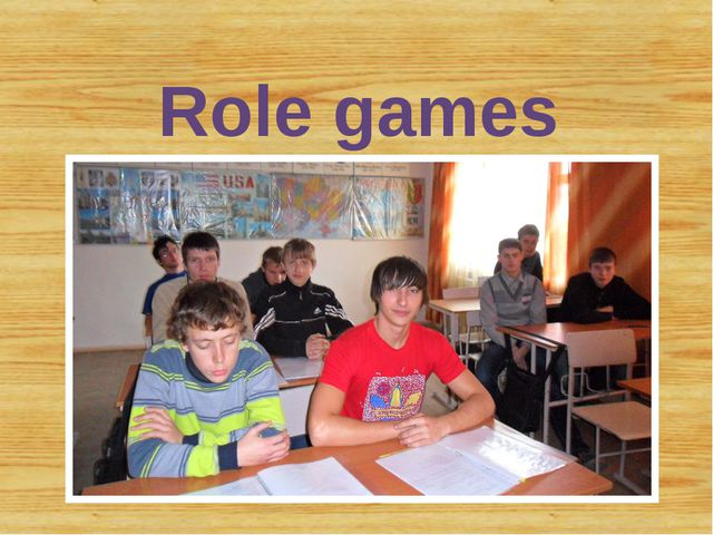 Role games