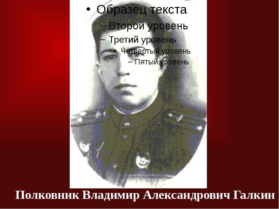 Полковник Владимир Александрович Галкин